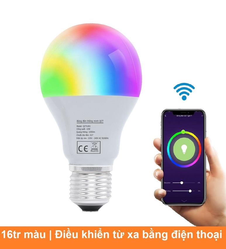 Bóng đèn thông minh QCT