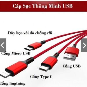 Cáp sạc thông minh USB