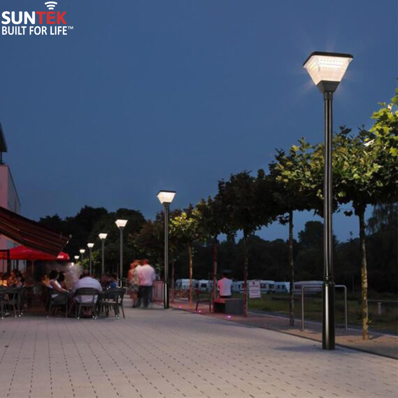 Đèn công viên năng lượng mặt trời SUNTEK CV01