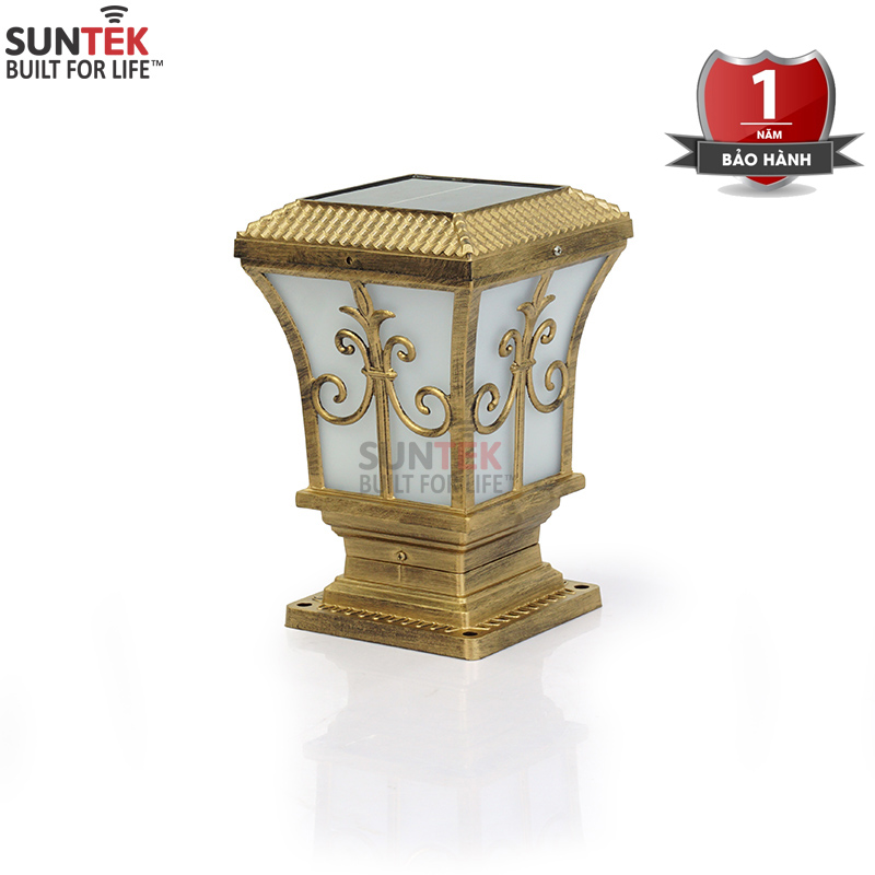 Đèn trụ cổng năng lượng mặt trời SUNTEK TC01