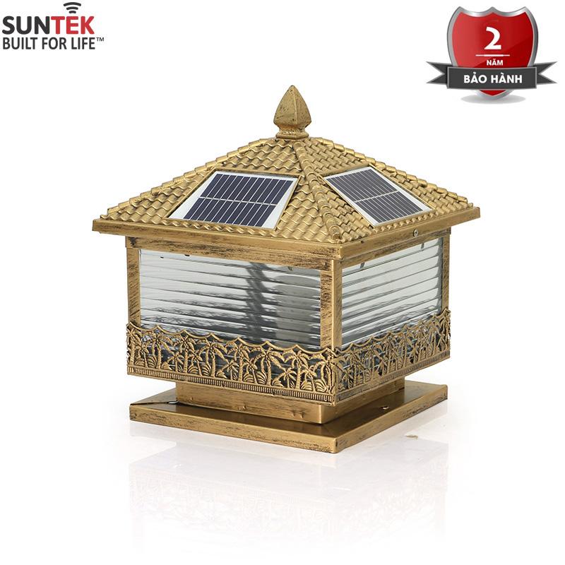 Đèn trụ cổng năng lượng mặt trời SUNTEK TC02
